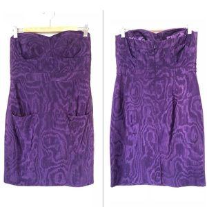 Ali Ro Strapless Mini Dress